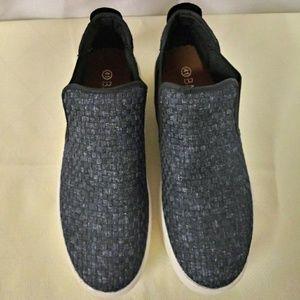 Women's BM bernie mev Blue Slip On Causal Shoes